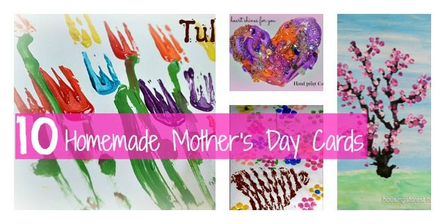homemade mothers day cards ideas