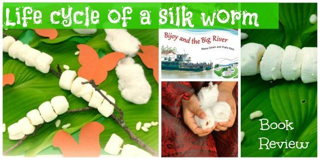 silk worm kids activity
