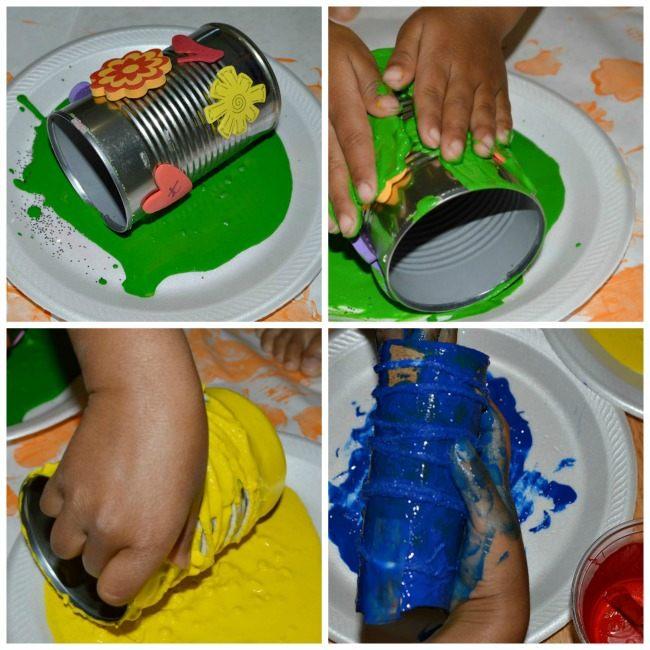 tin can art activity