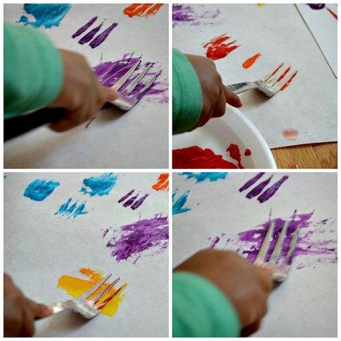toddler activities art