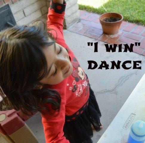 winner dance