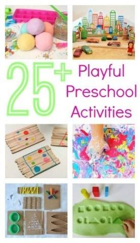 Preschool Play Ideas 1