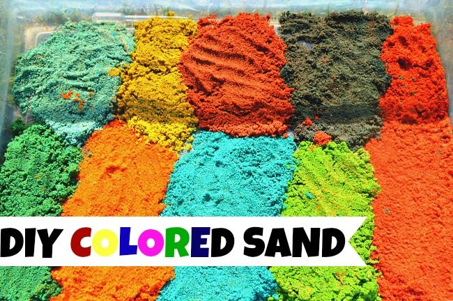 SENSORY ACTIVITIES WITH SAND
