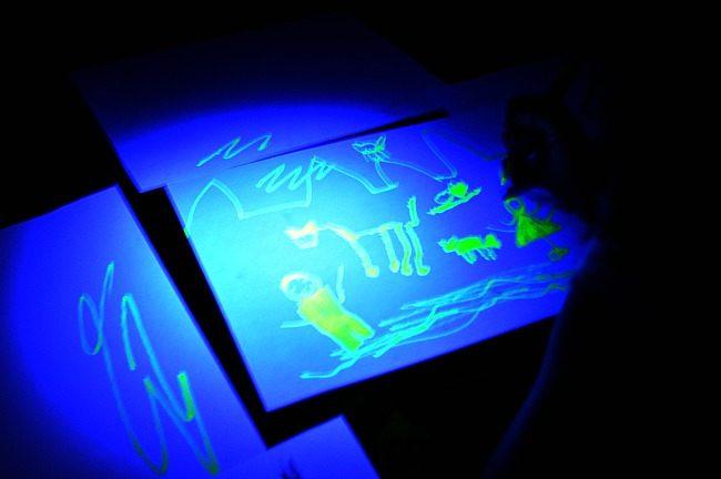 art glow in the dark