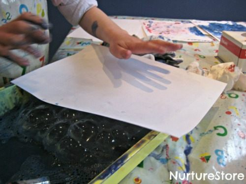 bubble-painting-for-kids