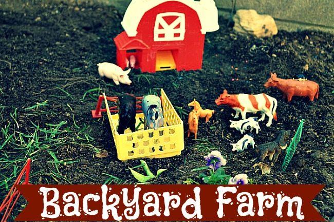 farm play ideas