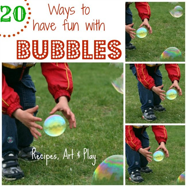 homemade bubble recipes