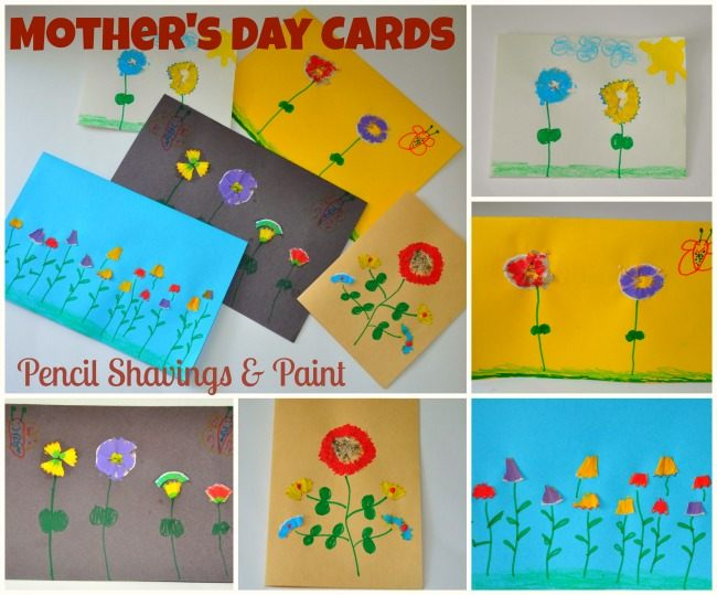 mothers day homemade cards