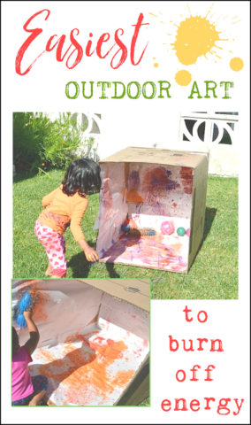 outdoor-art-project-with-boxes-and-paint-
