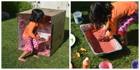 outdoor art activity