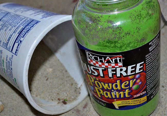 powder paint color