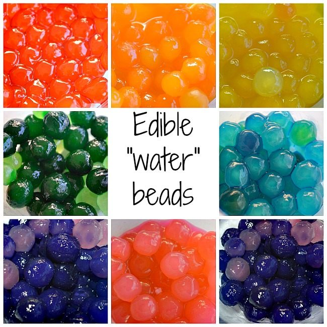 sensory activities with water beads