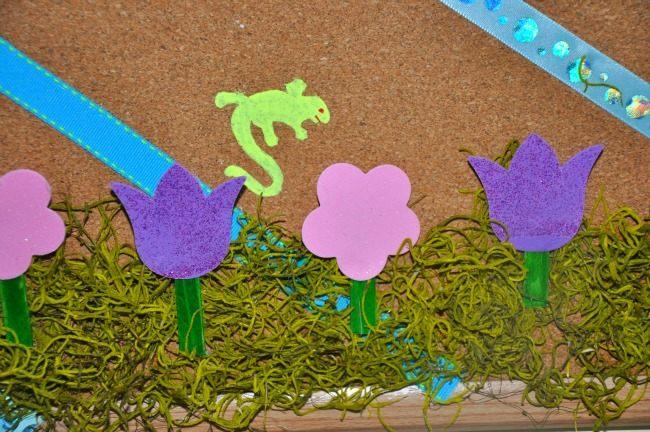 DIY craft stick flowers