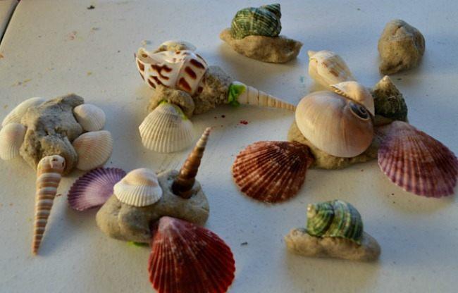 all creature using sensory sand dough