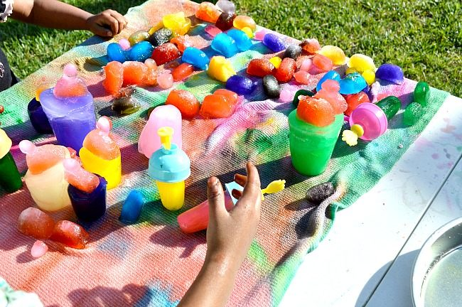 colorful summer fun