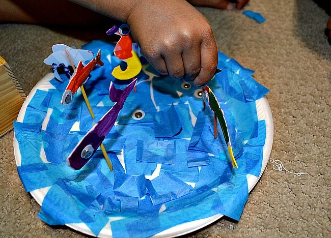 Crafts For Kids Ocean Craft Fun Littles