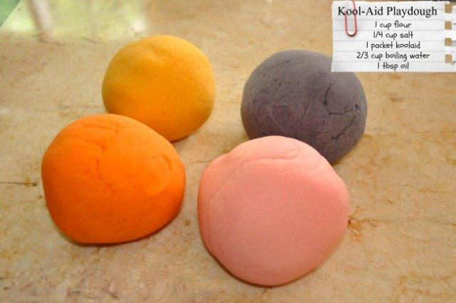 koolaid playdough recipe