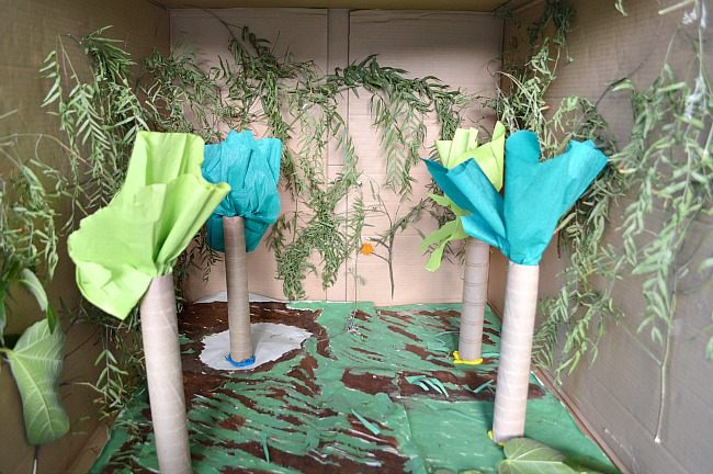 Small World Play Rainforest In A Box Fun Littles