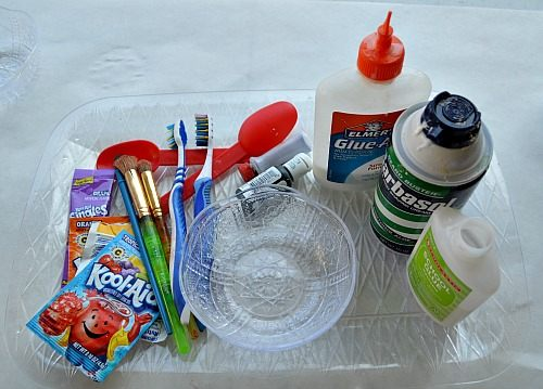 materials to make puff paint