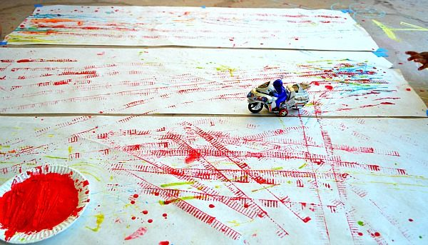 motor bike painting