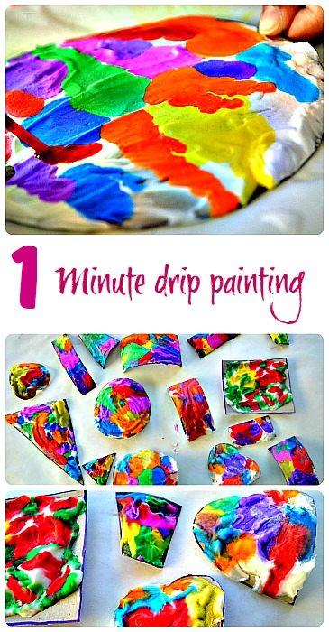 Blog Me Mom Drip Painting