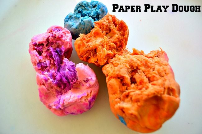 paper play dough
