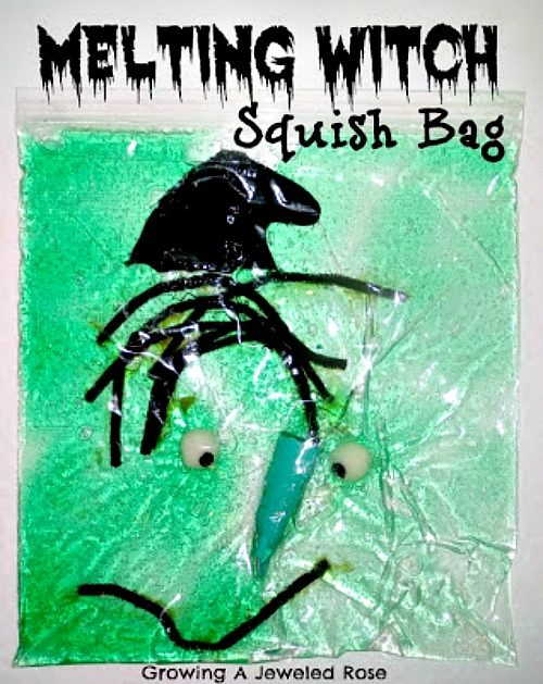 Halloween sensory activities bag