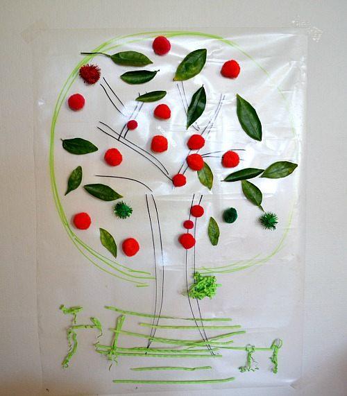 Toddler Activities Apple Tree Craft Fun Littles