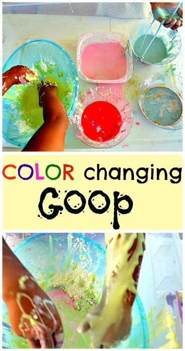color changing goop- blog me mo