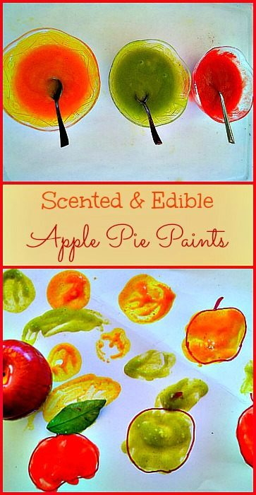 edible apple paints