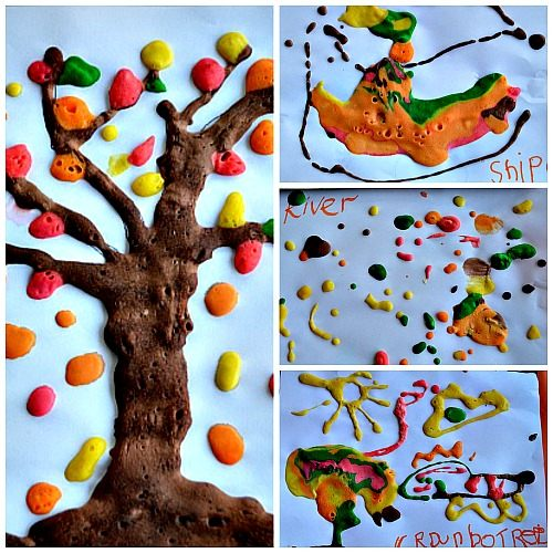 fall tree art project