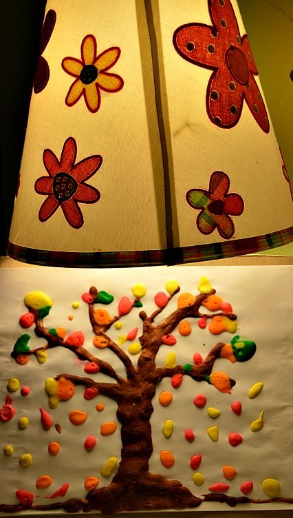 fall tree craft and art