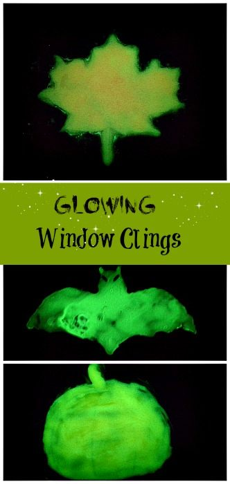 glowing window clings