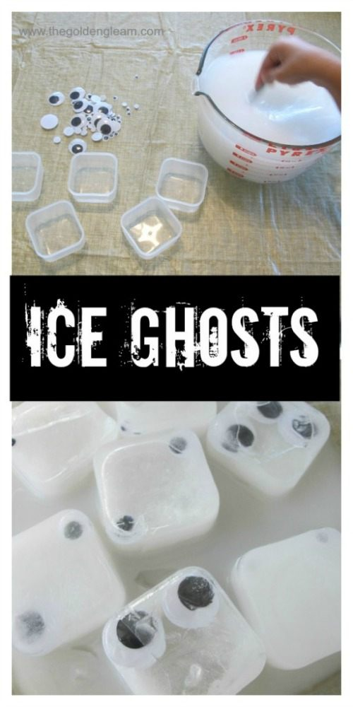 halloween sensory activities for kids using ice