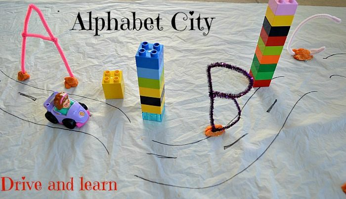 literacy activities using pipe cleaners