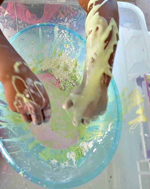 make yellow goop