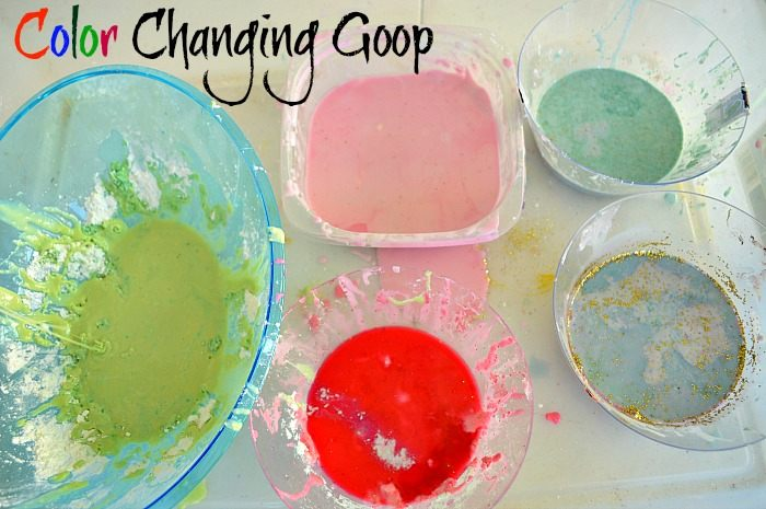 sensory activities with oobleck