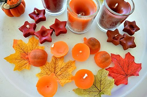 small shape candles