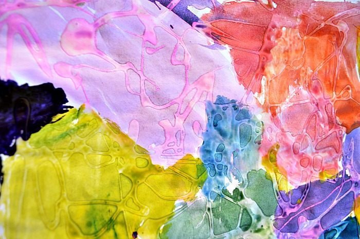 glue art activity
