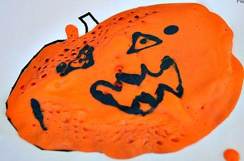 jack o lantern with puffy paint