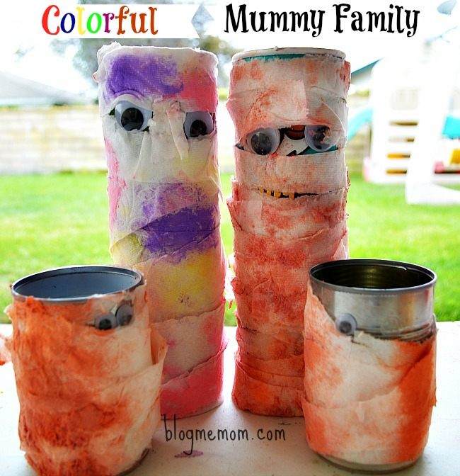 mummy craft for halloween
