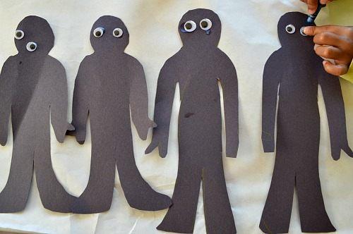 mummy crafts cutouts