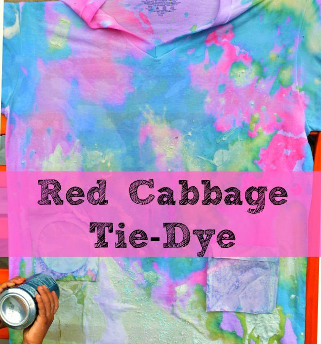 red cabbage water artwork