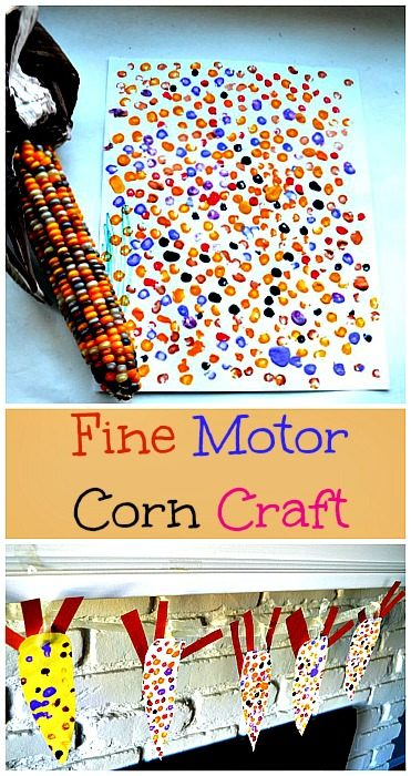 Corn Art and Craft