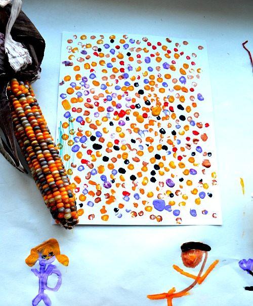 corn art and crafts