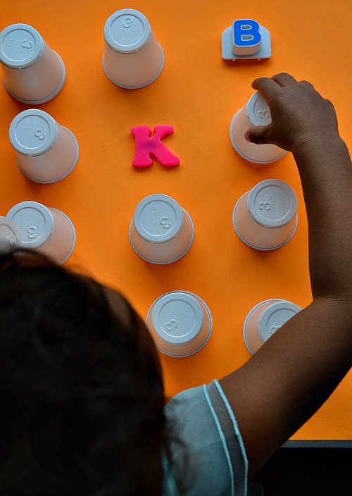 games with cups for kids