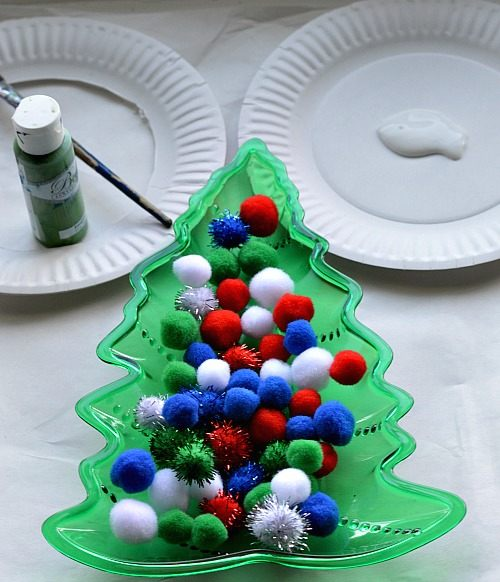 materials for christmas wreath