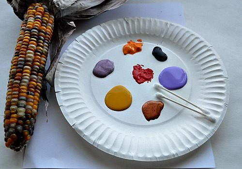 materials for thanksgiving crafts for kids