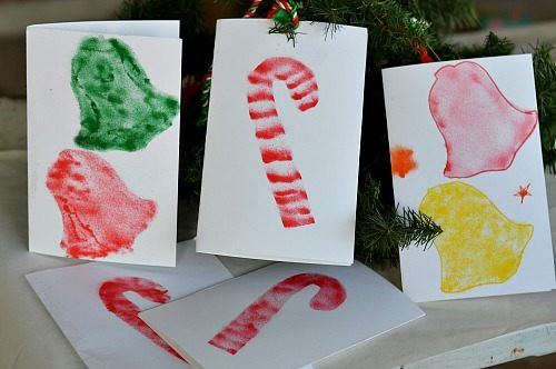Christmas crafts for kids: Homemade Christmas Cards and Gifts with ...