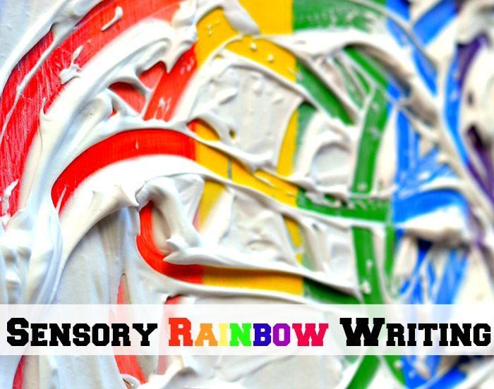 sensory writing activities